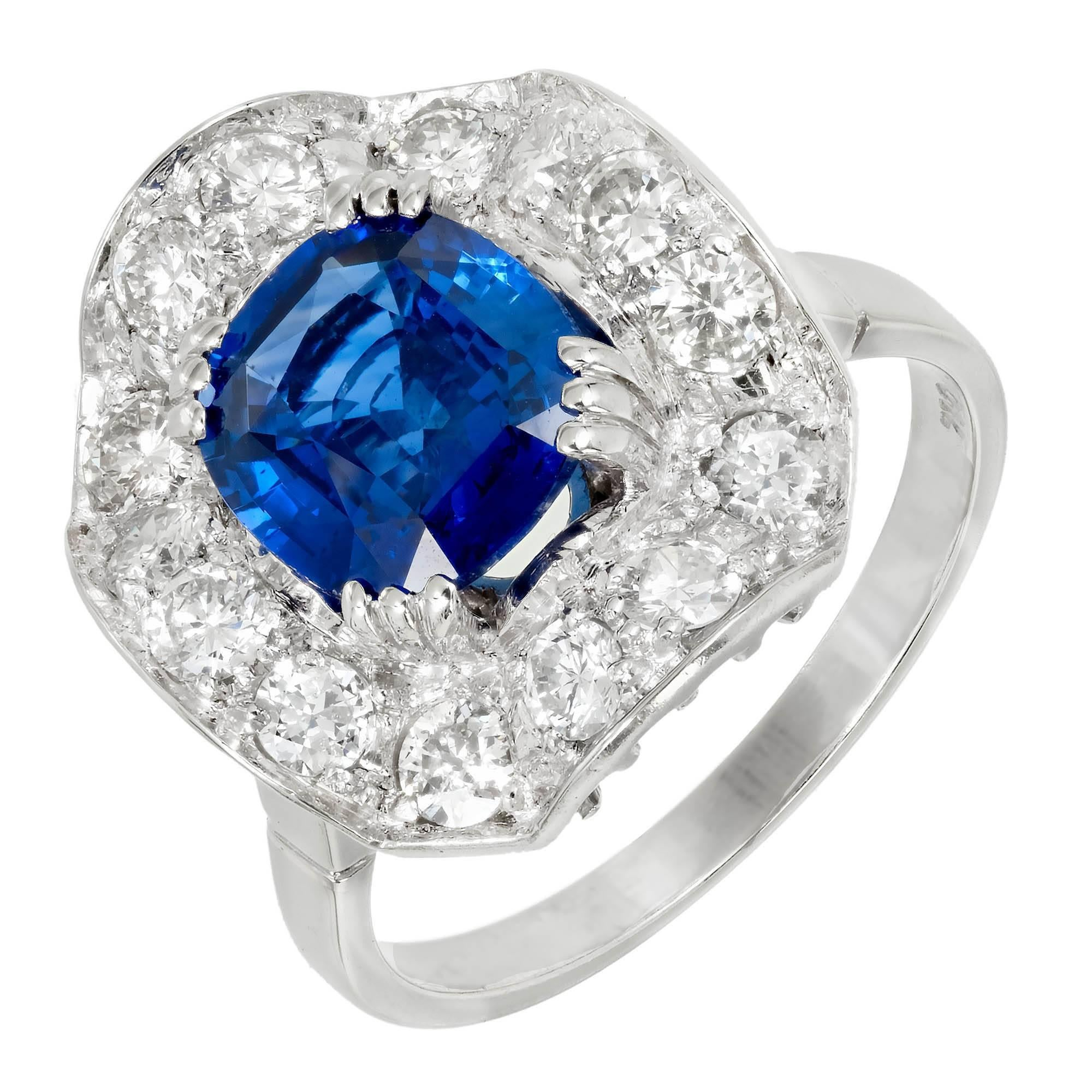 blue designers engagement cushion jewels inverted diamond edge with rings ring halo eli sapphire