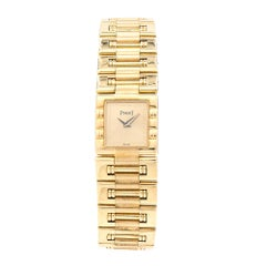 Piaget Ladies Yellow Gold Dancer Quartz Wristwatch Ref 15317