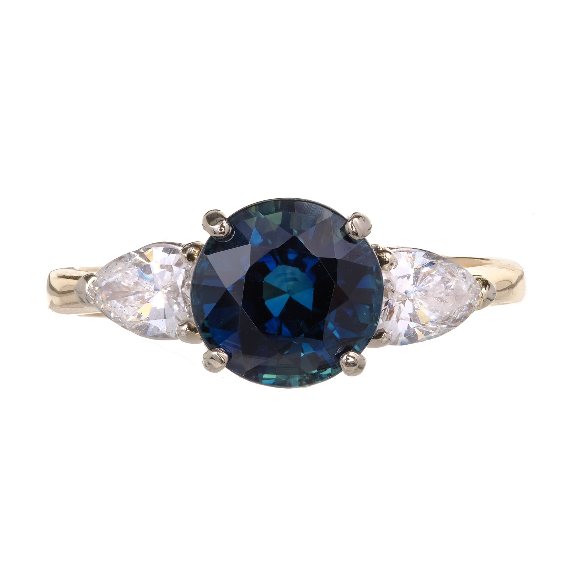 sapphire vari eco jewels online by coloured ring gold and cartier mounted baguette s diamond
