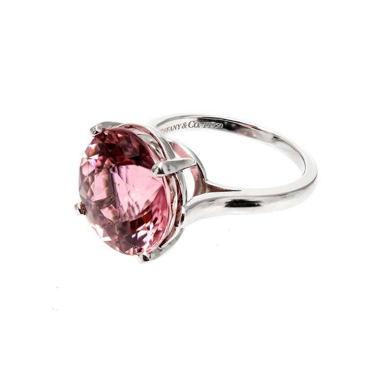 Tiffany Natural 8 59 Carat Certified Pink Tourmaline