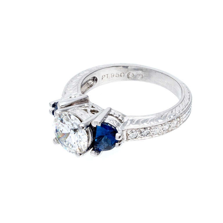 Peter Suchy Timeless Designs Sapphire And Diamond ...