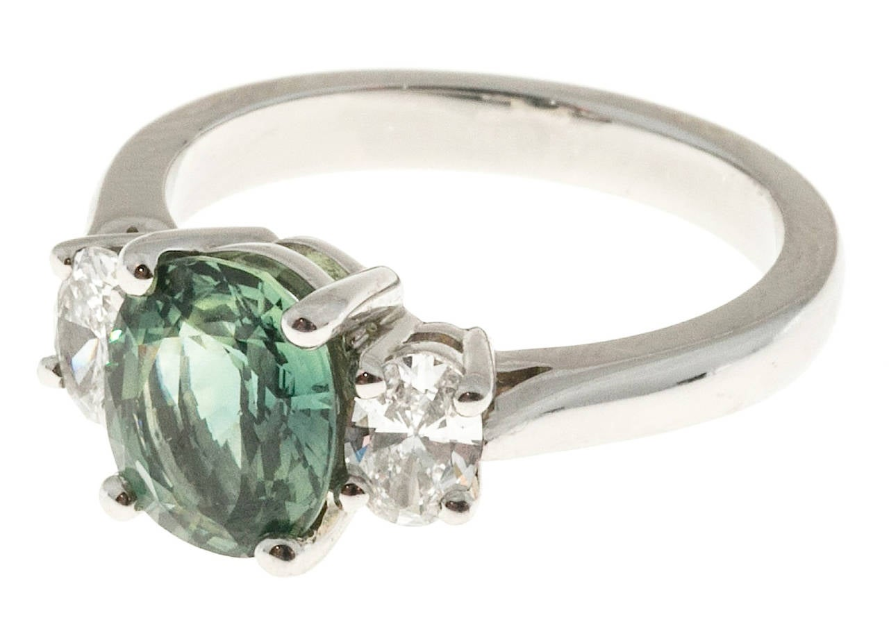 white gold with inspired ring rings marquise stone diamond in nl round side green nature emerald semimount wg cut jewelry engagement