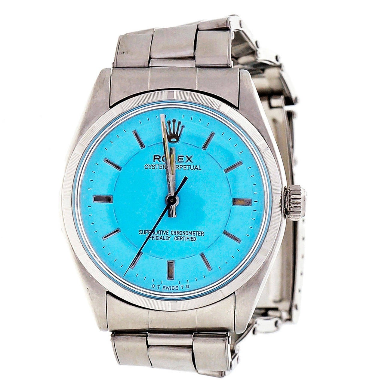 Rolex Stainless Steel Oyster Perpetual  Wristwatch Ref 6565