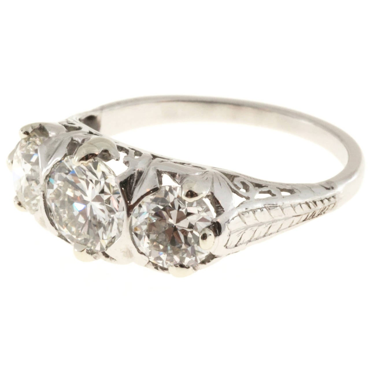 how to clean platinum diamond ring at home