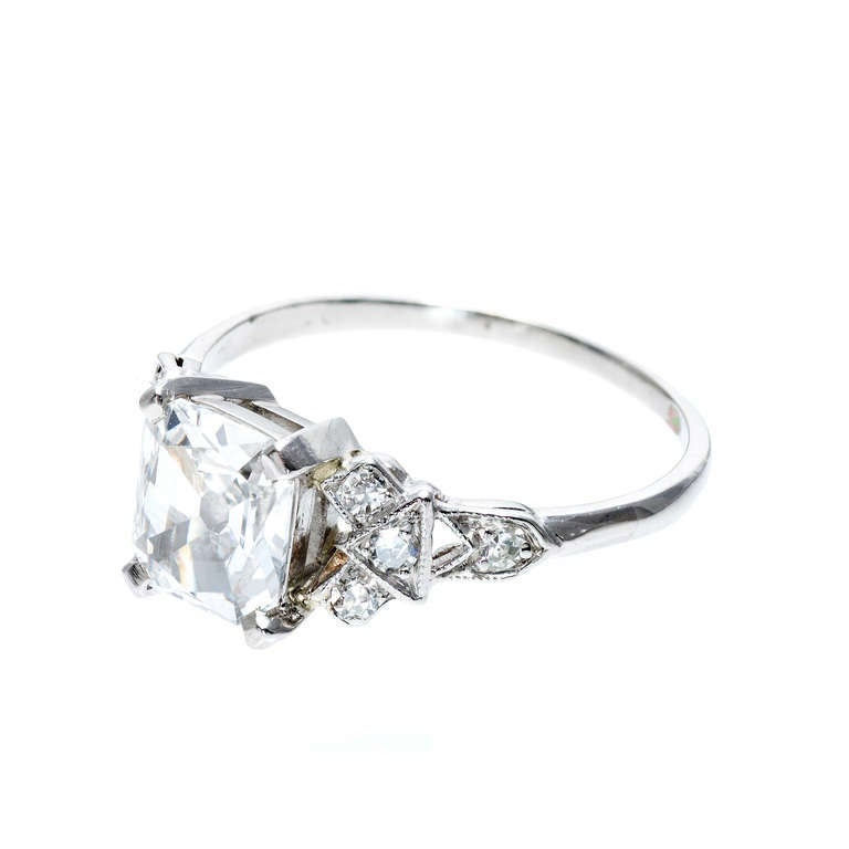 ring diamond rings cut halo single pav with princess engagement b angle phillips en birks and pave square band