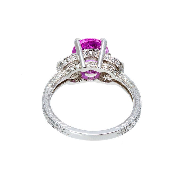 Awesome Pink Diamond Engagement Rings for Sale