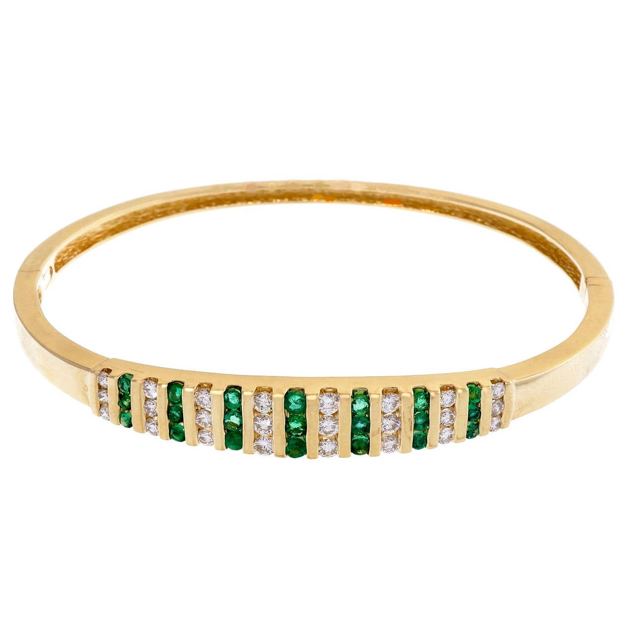 for bracelet bracelets emerald bangles id j hinged diamond bangle copy l gold sale at jewelry