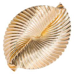 Tiffany & Co. Swirl Ribbon gold Pin
