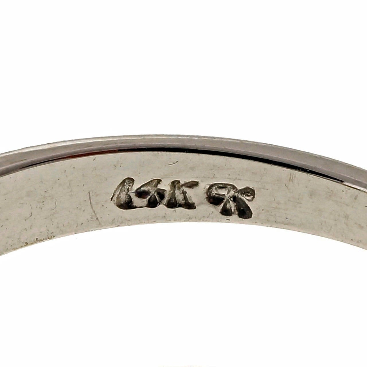 Women's Diamond Gold Engagement Ring For Sale