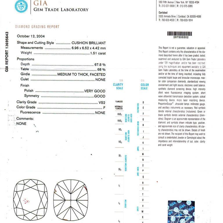 Diamond Halo Platinum Ring 6