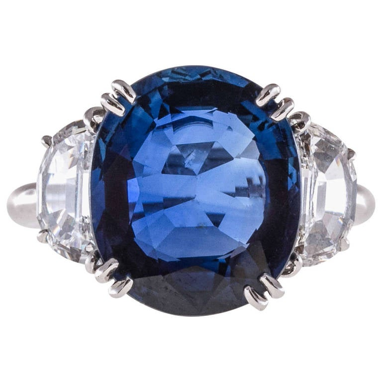 blue lankan sapphire cushion natural ceylon products carat cut cornflower ct unheated sri