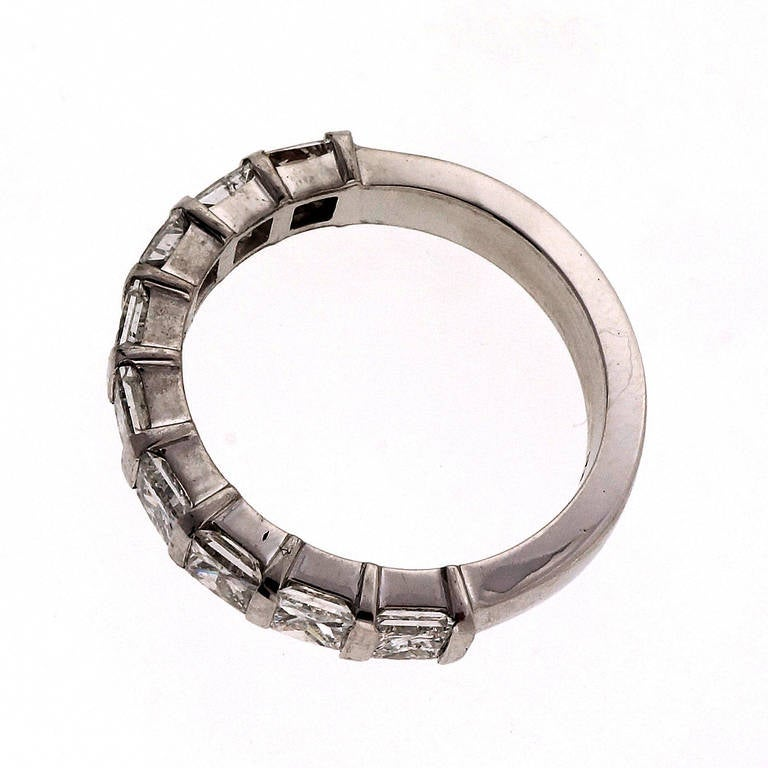 suchy designs platinum wedding band ring for