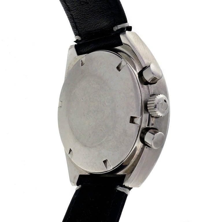Men's Omega Stainless Steel Speedmaster Mark II Chronograph Wristwatch For Sale