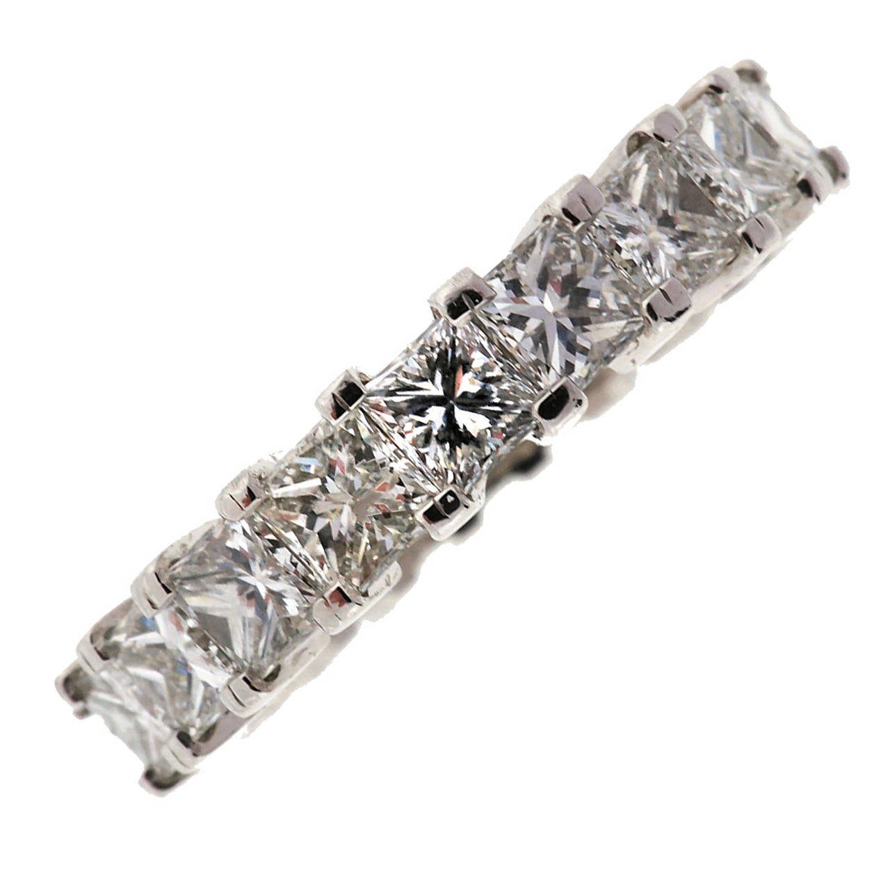 Peter Suchy Diamond Platinum Eternity Ring