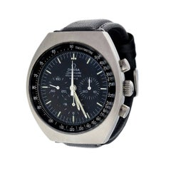 Omega Stainless Steel Speedmaster Mark II Chronograph Wristwatch
