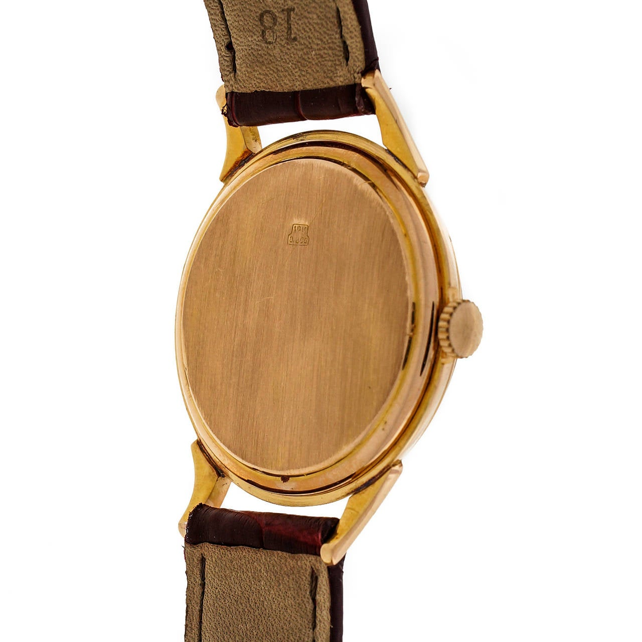 Women's or Men's Omega Tiffany & Co. Rose Gold Wristwatch  For Sale