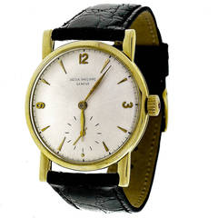 Patek Philippe Yellow Gold Wristwatch Ref 1578 circa 1955