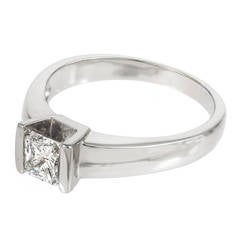 Radiant Cut Diamond White Gold Engagement Ring