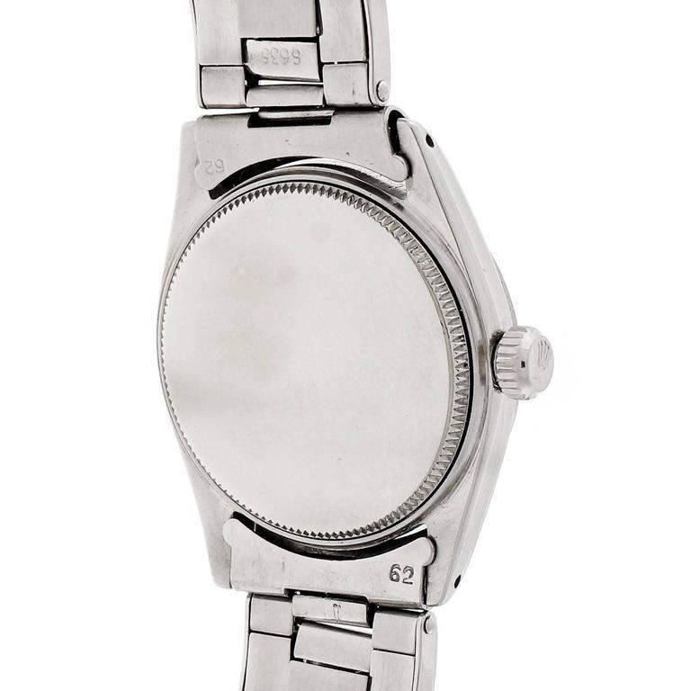 Rolex Stainless Steel Oysterdate Precision Wristwatch Ref