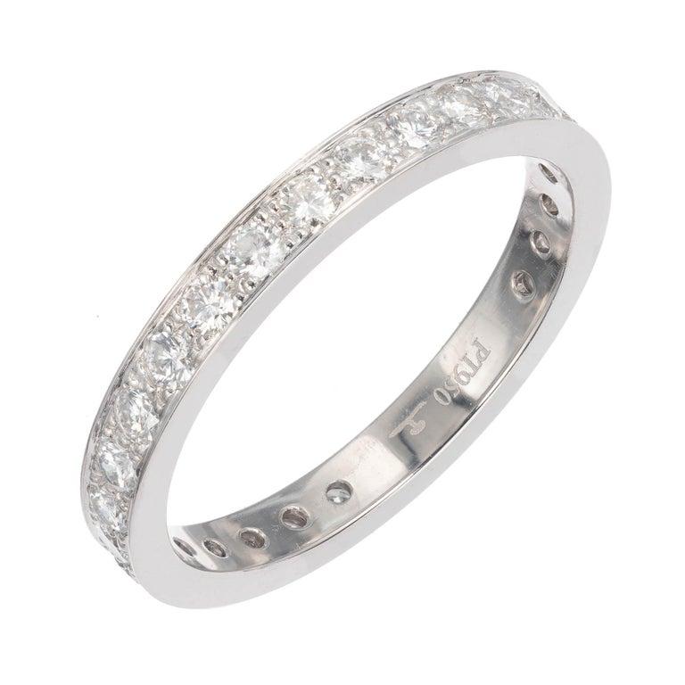 .70 Carat Diamond Eternity Wedding Band Ring