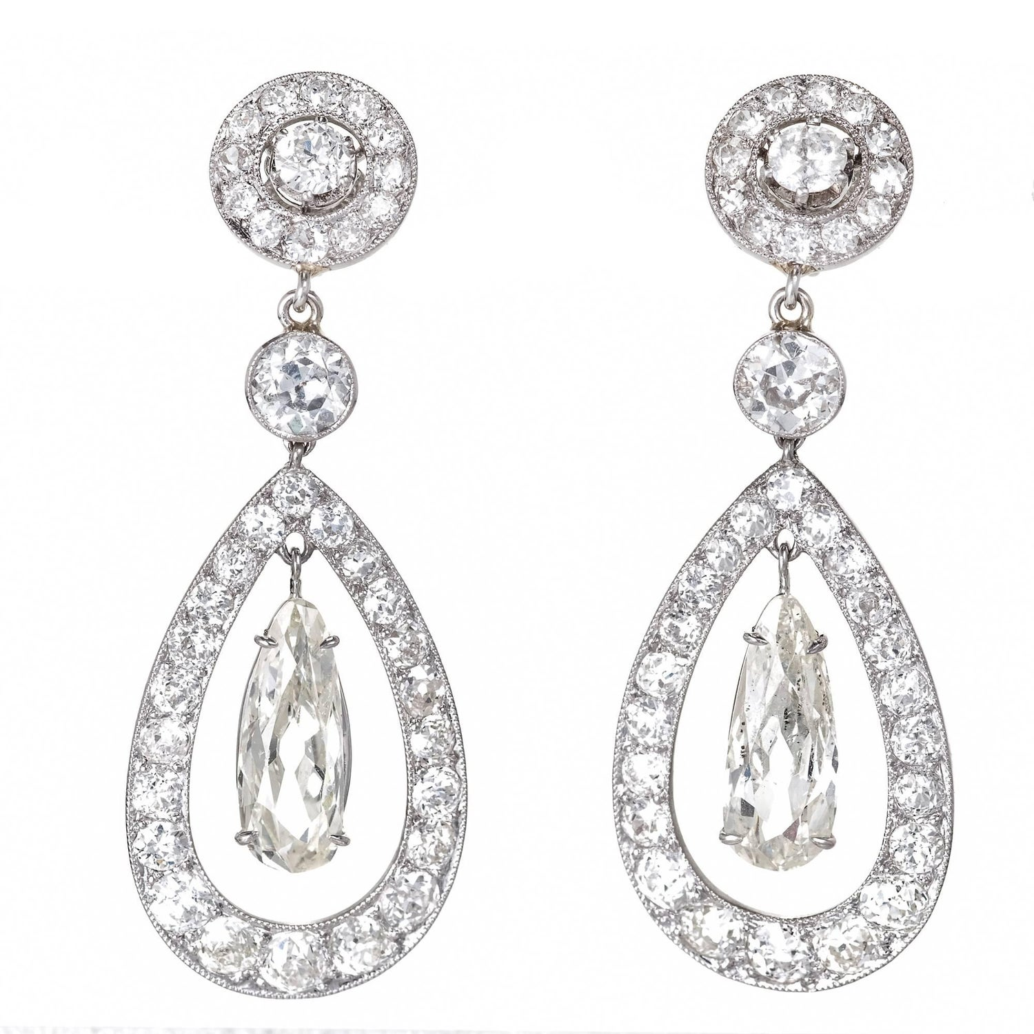 Early 1900s Earrings 81 For Sale at 1stdibs