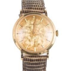 Tiffany & Co. Yellow Gold Movado Wristwatch, circa 1951