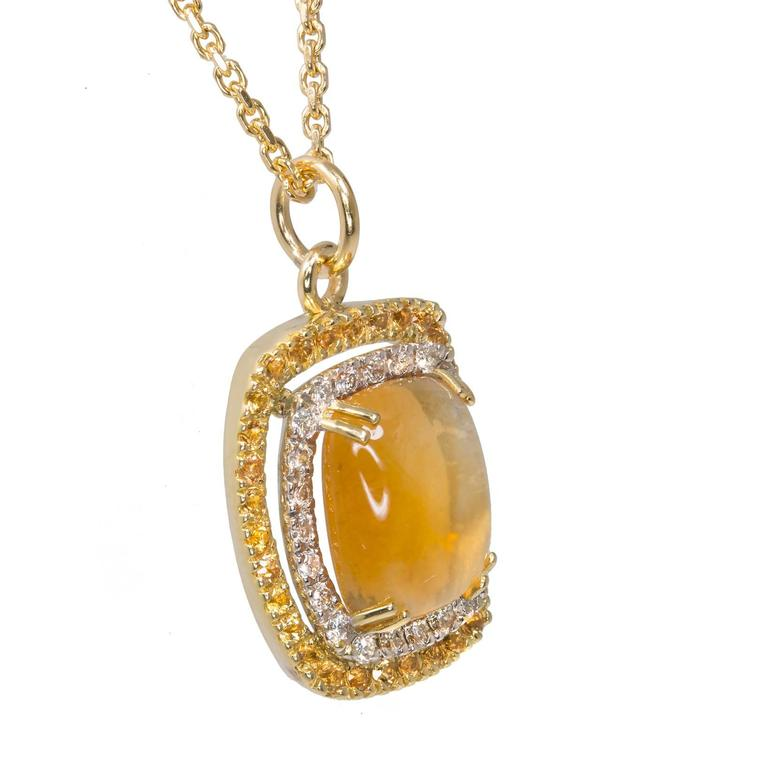 yellow sapphire necklace - photo #28