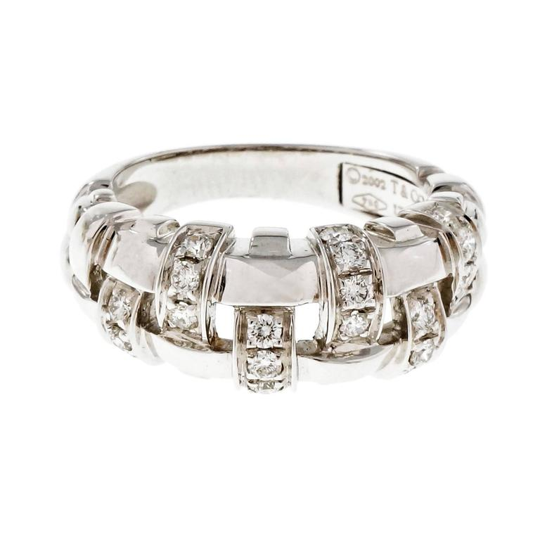 Tiffany Co Weave Ring