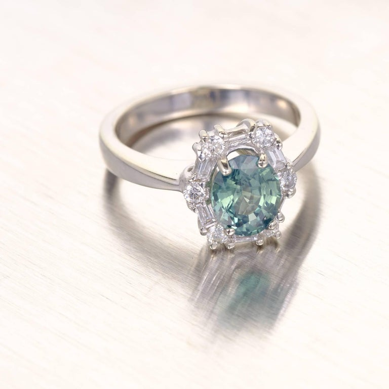 ring nl in emerald blue yellow cut jewelry gold diamond with sapphire stone three round rings yg set tension green engagement