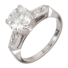 EGL Certified 1.52 Carat Diamond Engagement Ring