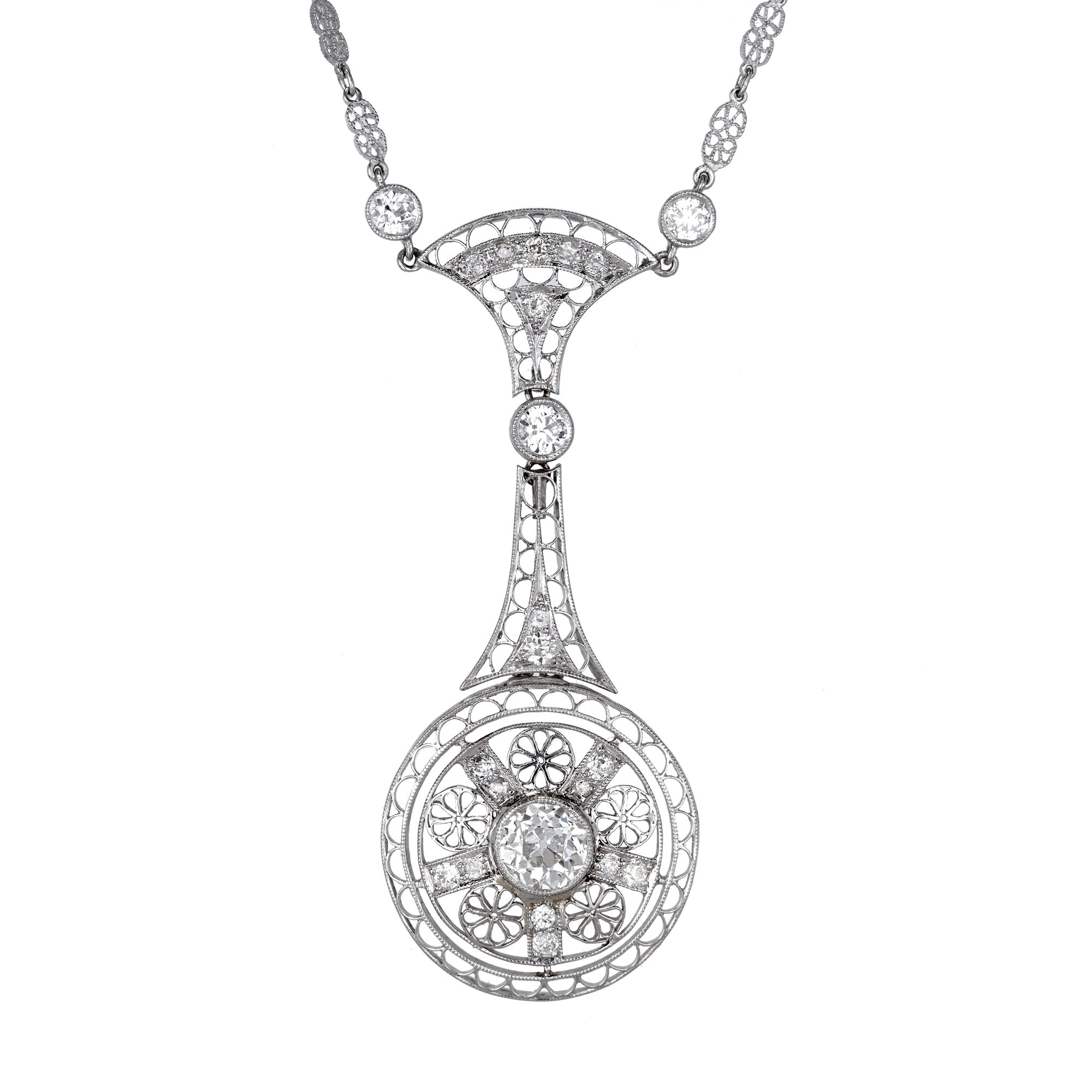 pendant jewelry cut platinum necklace pear diamond jewellery beautiful diamondland