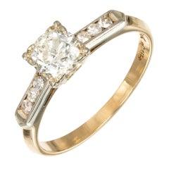 .55 Carat Diamond Yellow White Gold Engagement Ring