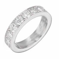 Peter Suchy 2.20 Carat Platinum Wedding Band Ring