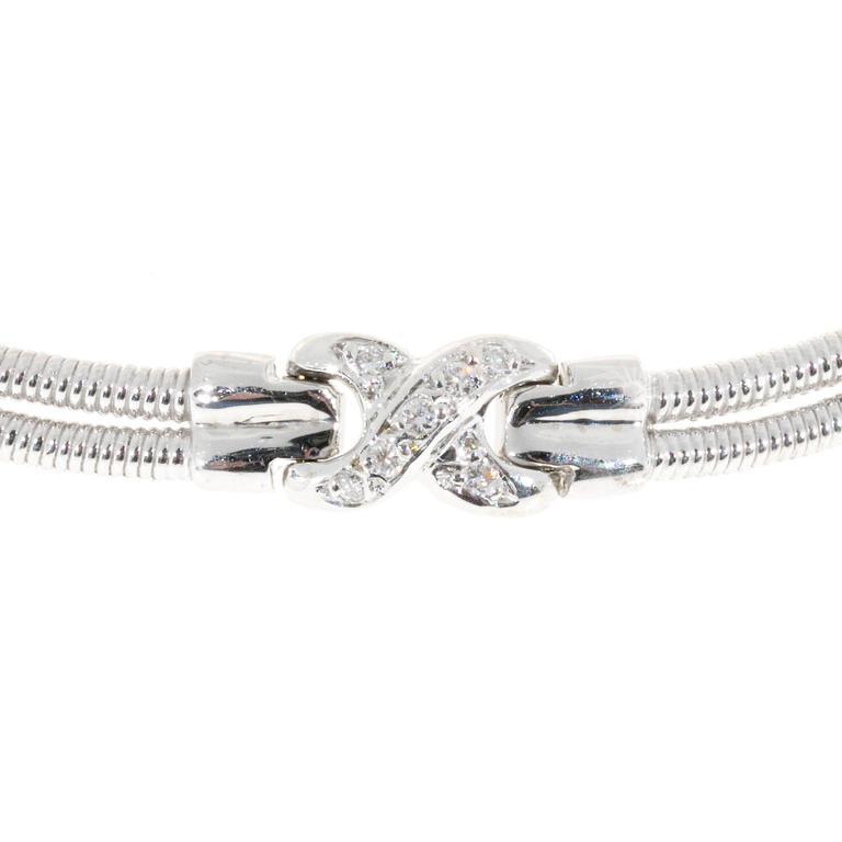 Diamond Gold 2 Row Twisted Wire \