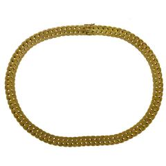 Buccellati Gold Rope Collar Necklace