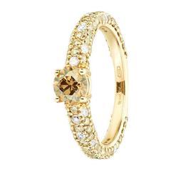 Renesim 0.5 Carat Brown Diamond Ring
