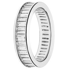 Renesim Baguette Diamond Eternity Band
