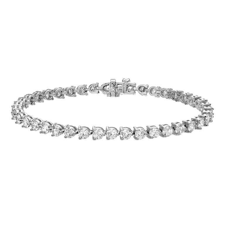 Diamond Tennis Bracelet in Gold