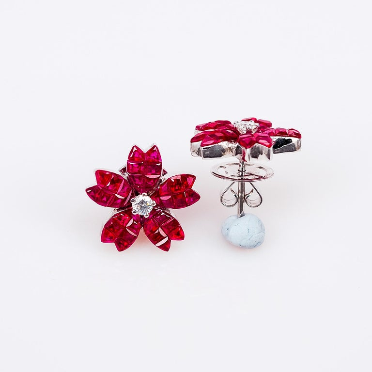 A Lovely Ruby Stud Earrings That You Can Use As Everyday We The Top