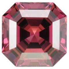 Malaya Garnet Ring Gem 7.48 Carat Unset Square Octagon Loose Gemstone