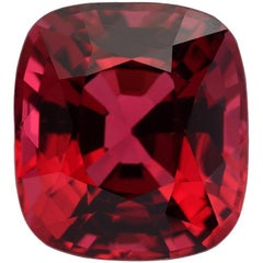 Red Spinel Burma Cushion 5.05 Carat AGL Certified