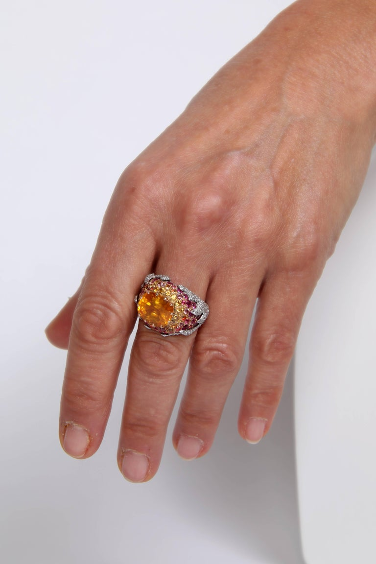 Yellow Sapphire Ring by Marion Jeantet For Sale 2