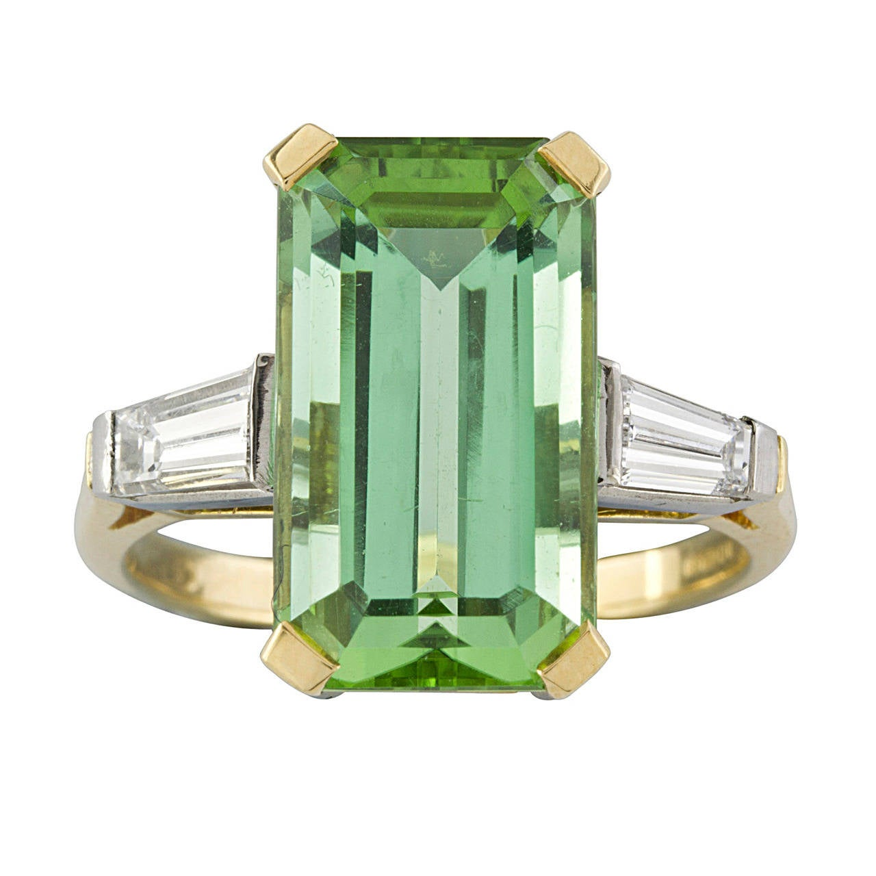 acfj ring engagement diamonds ana cavalheiro tourmaline greentourmaline rings green products with