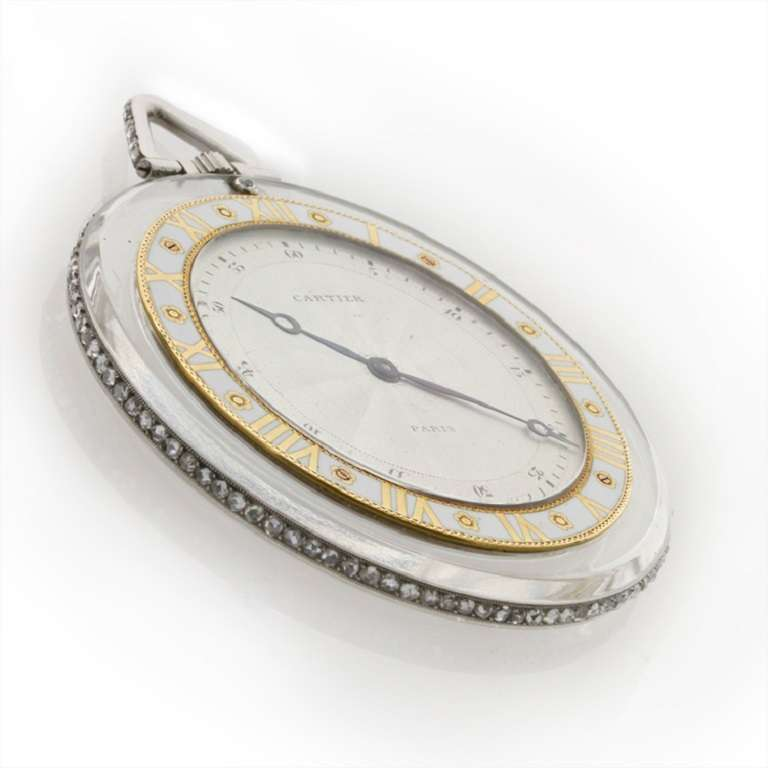 cartier magnificent rock yellow gold and enamel