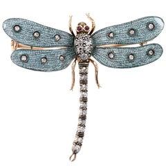 Victorian Dragonfly Brooch