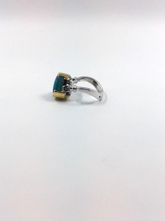 unique opal diamonds gold ring at 1stdibs