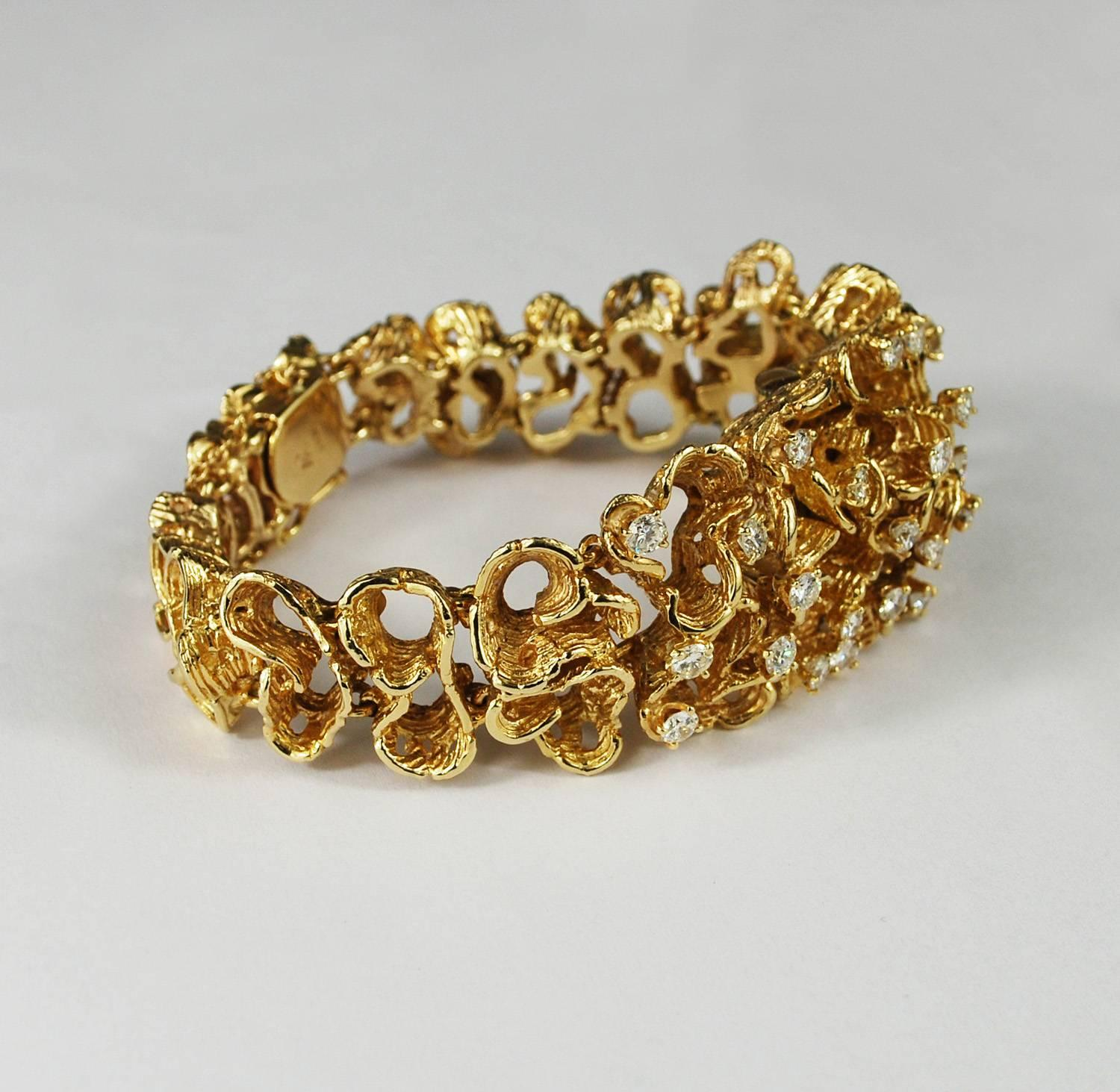 dream gold jewelry rose pomellato tango bracelet product diamond