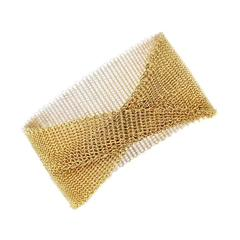 Tiffany & Co. Gold Mesh Bracelet
