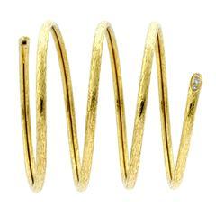 Van Cleef & Arpels Snake Wrap Bangle Diamond Bracelet