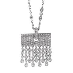 Chopard Diamond white gold Tassel Drop Necklace